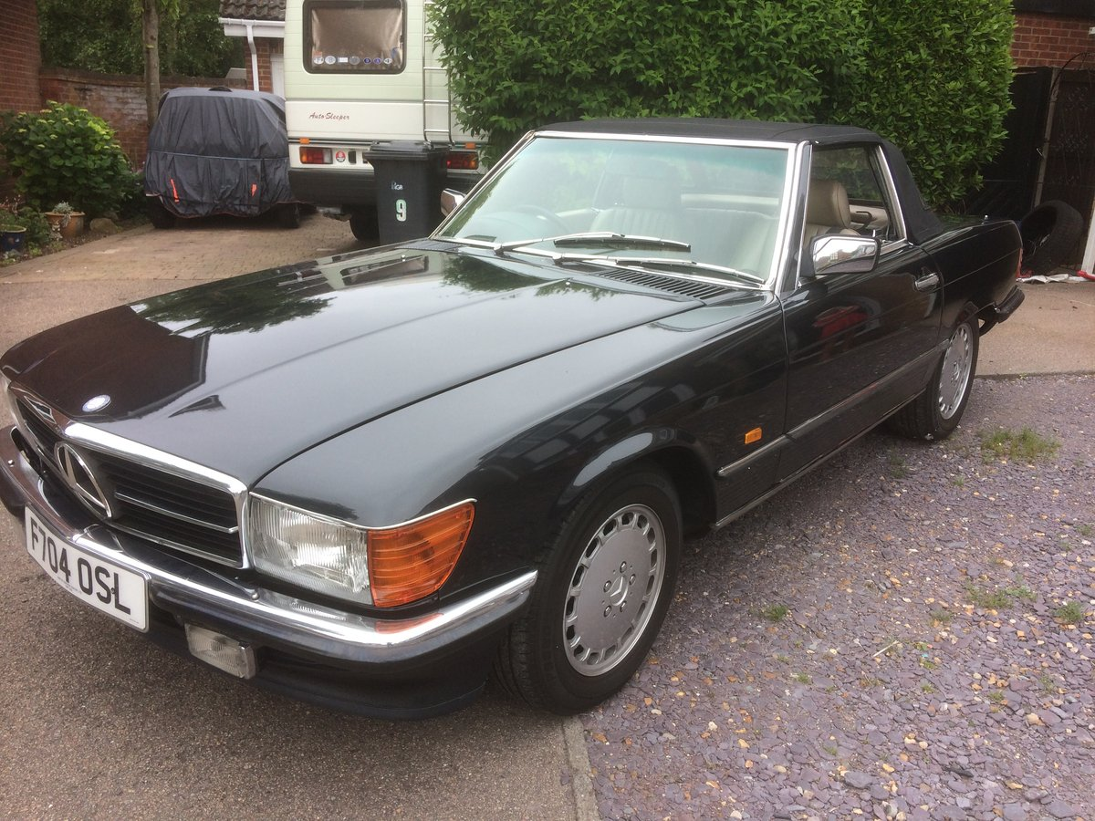 1989 Mercedes SL hard top available extra cost For Sale (picture 1 of 6)