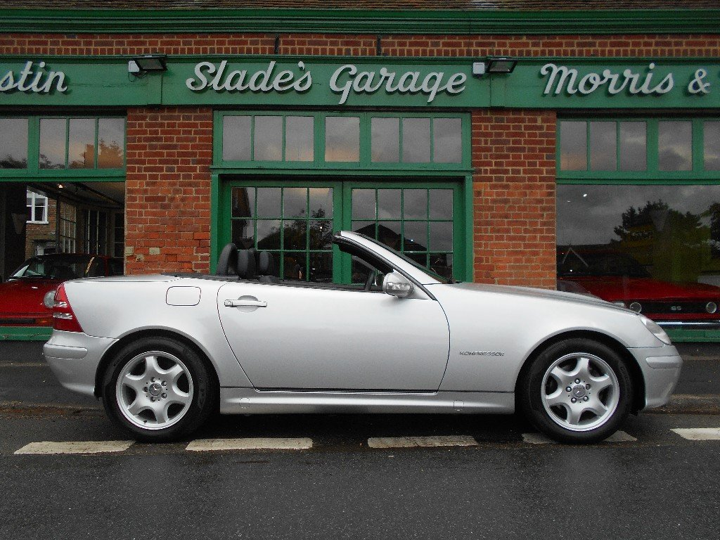 2002 Mercedes SLK 230 Convertible Automatic  SOLD (picture 1 of 2)