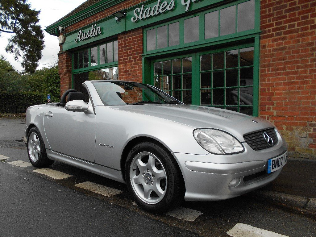 2002 Mercedes SLK 230 Convertible Automatic  SOLD (picture 2 of 2)