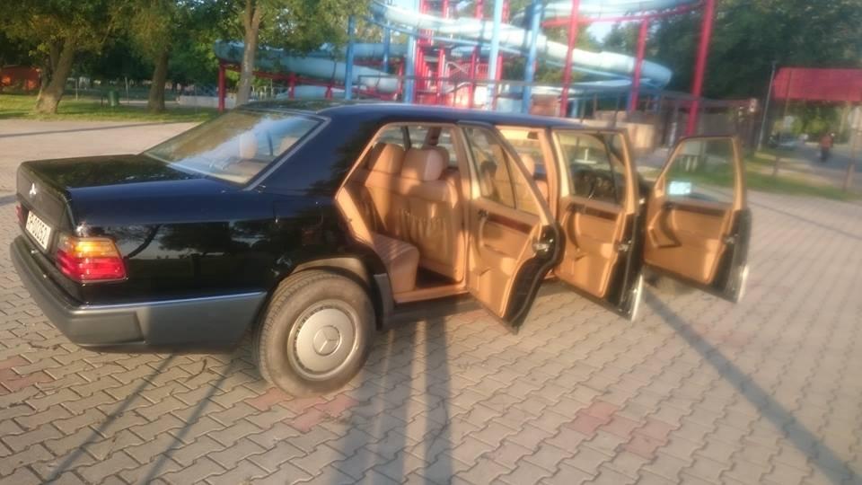 1991 Mercedes Benz w124 250 D 6 door lwb limousine For Sale (picture 3 of 6)