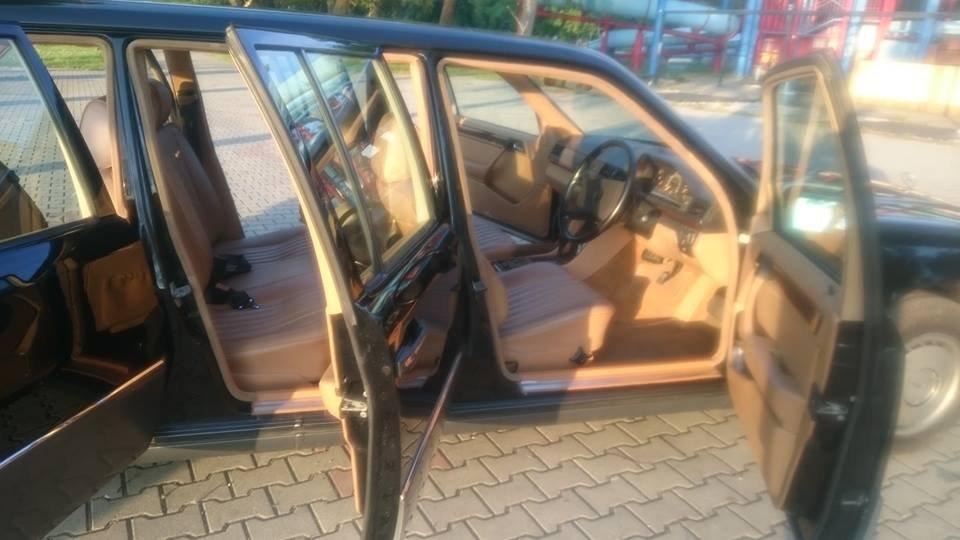 1991 Mercedes Benz w124 250 D 6 door lwb limousine For Sale (picture 5 of 6)