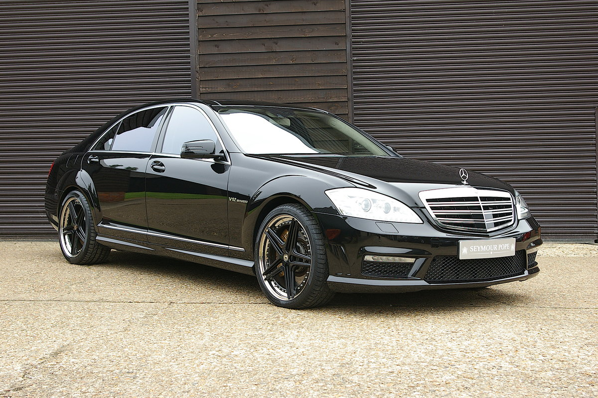 2007 Mercedes Benz S65 AMG V12 Bi-Turbo LWB Auto (28,850 miles) SOLD (picture 1 of 6)