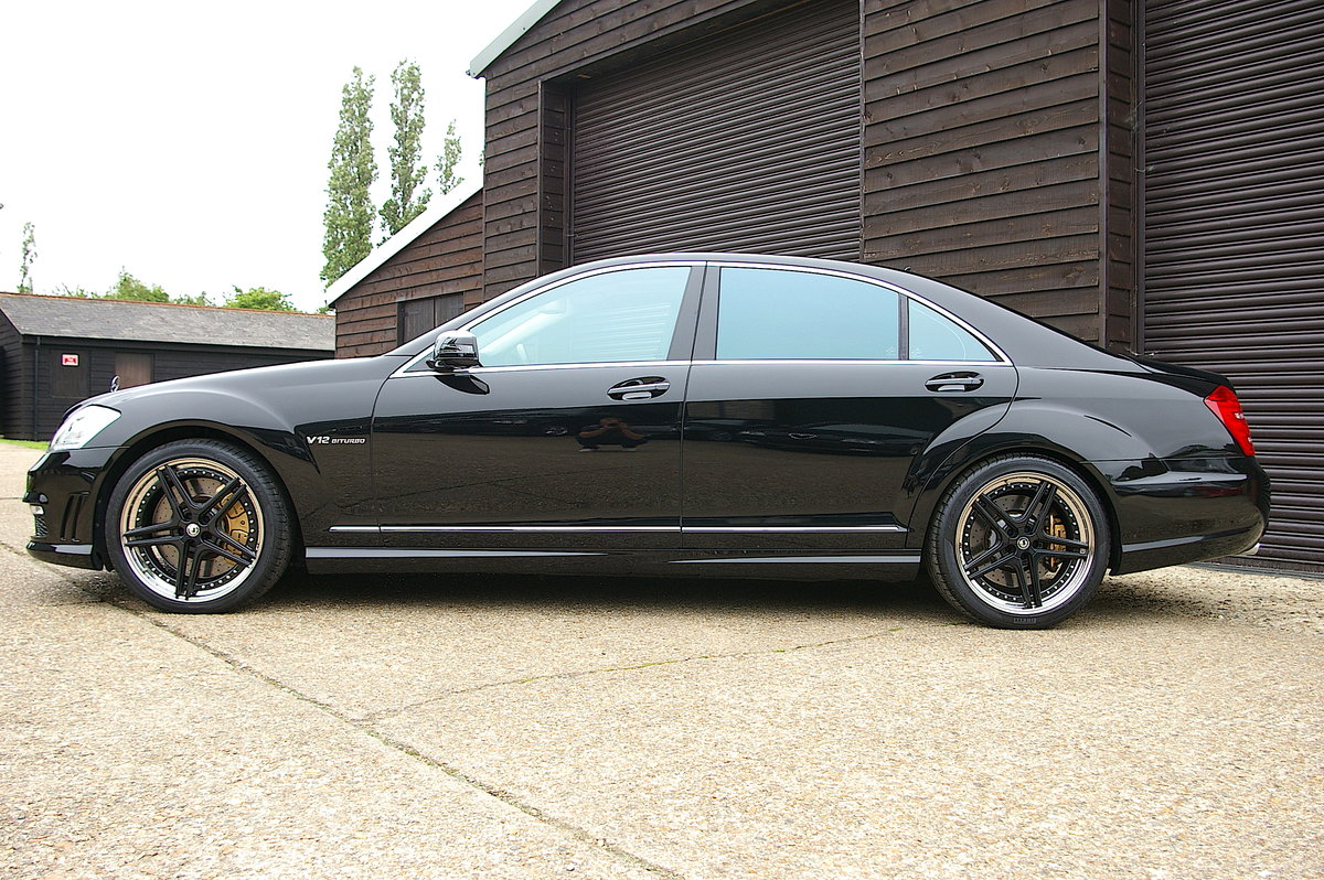 2007 Mercedes Benz S65 AMG V12 Bi-Turbo LWB Auto (28,850 miles) SOLD (picture 2 of 6)