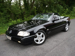 2000(W) MERCEDES BENZ SL280 V6 CONVERTIBLE AUTOMATIC BLACK For Sale