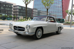 1960 Mercedes Benz 190 SL - italian car - same owner since '85