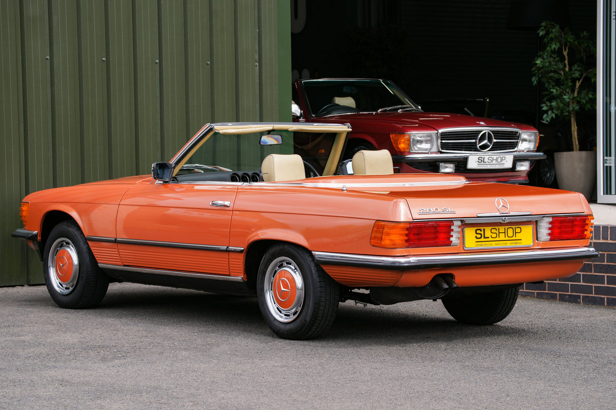 1981 Mercedes-Benz 280SL (R107) #2127 For Sale (picture 5 of 6)