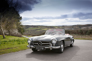 1962 MERCEDES 190SL LHD - A BEAUTIFUL EXAMPLE