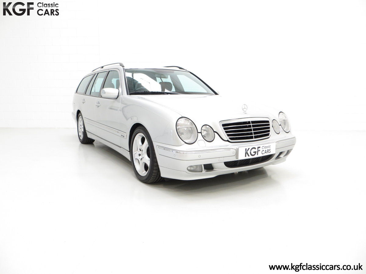 2001 A Fully-Loaded Mercedes-Benz E320 CDI Avantgarde Estate SOLD (picture 1 of 6)