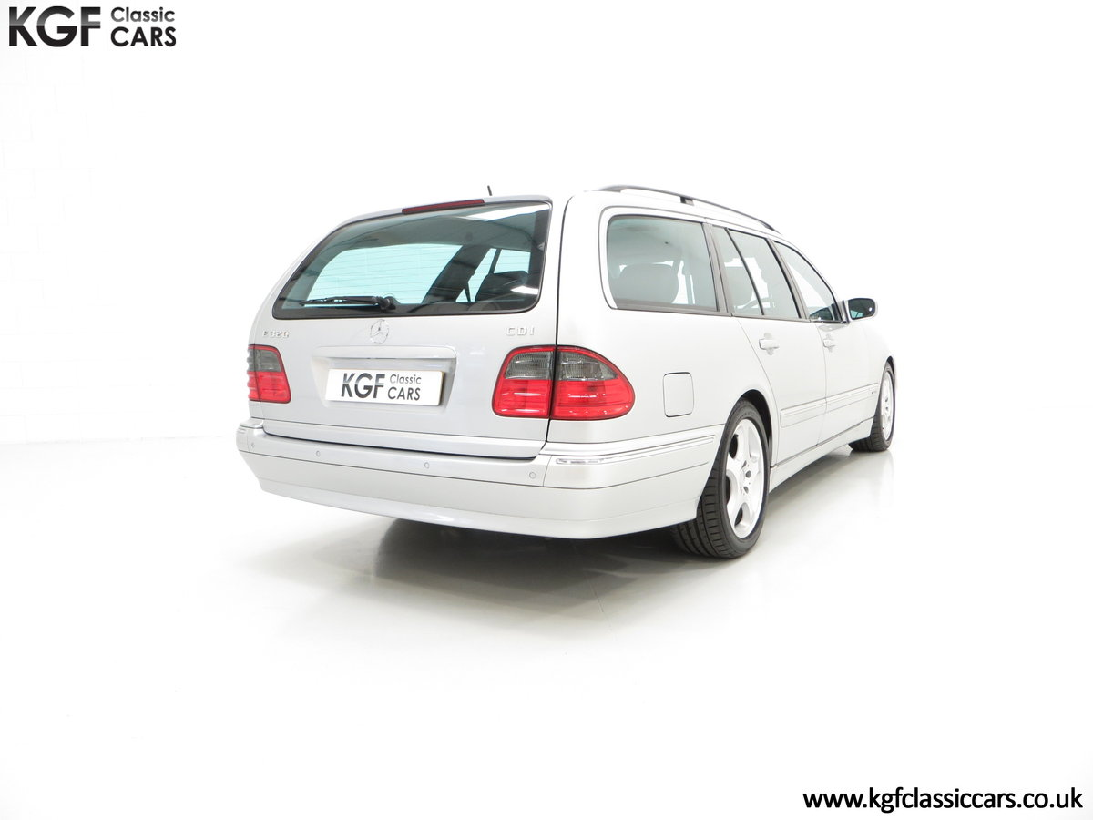2001 A Fully-Loaded Mercedes-Benz E320 CDI Avantgarde Estate SOLD (picture 5 of 6)