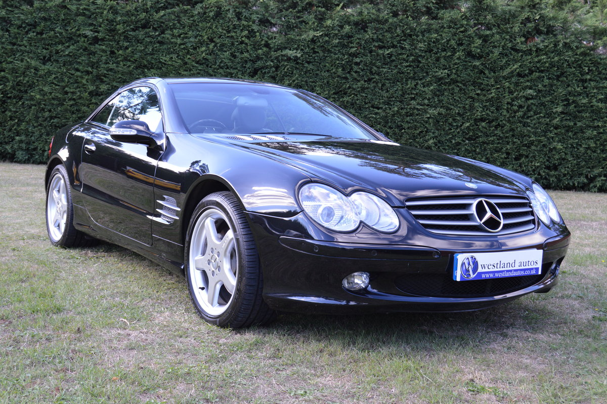 2002 Mercedes SL500 For Sale (picture 1 of 6)