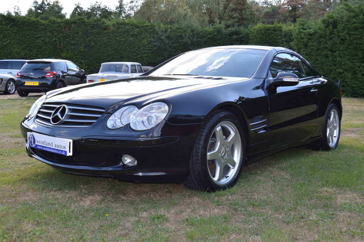 2002 Mercedes SL500 For Sale (picture 2 of 6)