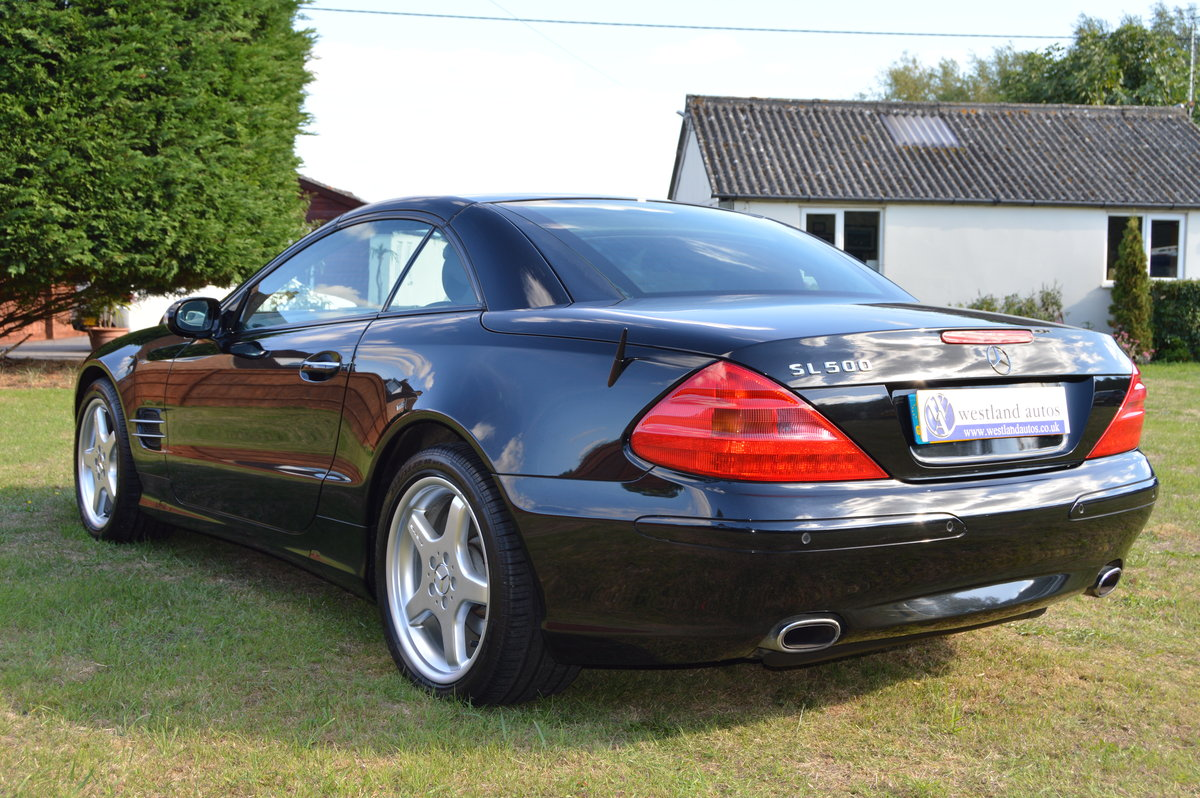 2002 Mercedes SL500 For Sale (picture 3 of 6)