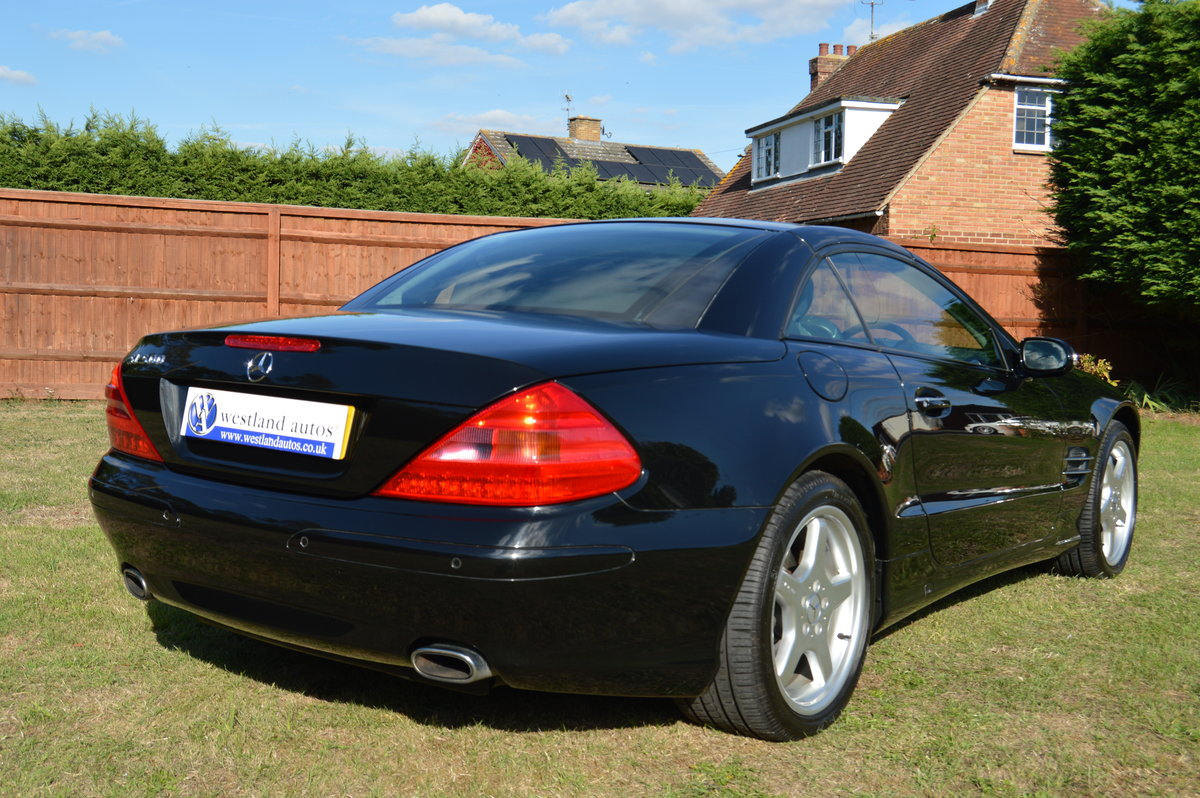 2002 Mercedes SL500 For Sale (picture 4 of 6)