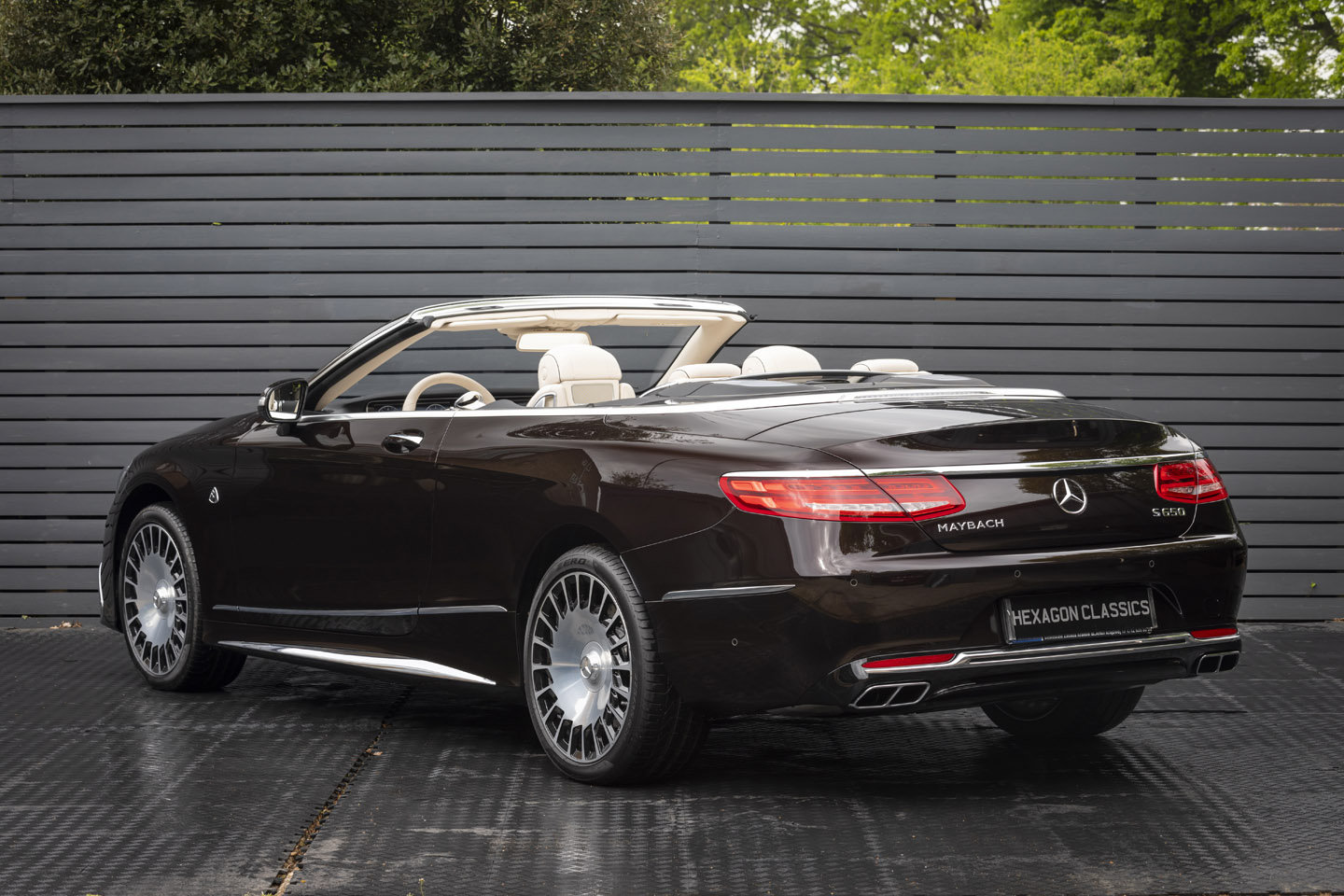 2019 S650 Cabriolet LHD (DELIVERY MILES) For Sale (picture 2 of 6)