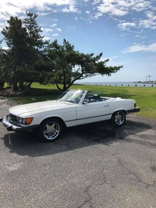 1982 Mercedes 380SL Convertible (West Islip, NY) $24,900 obo