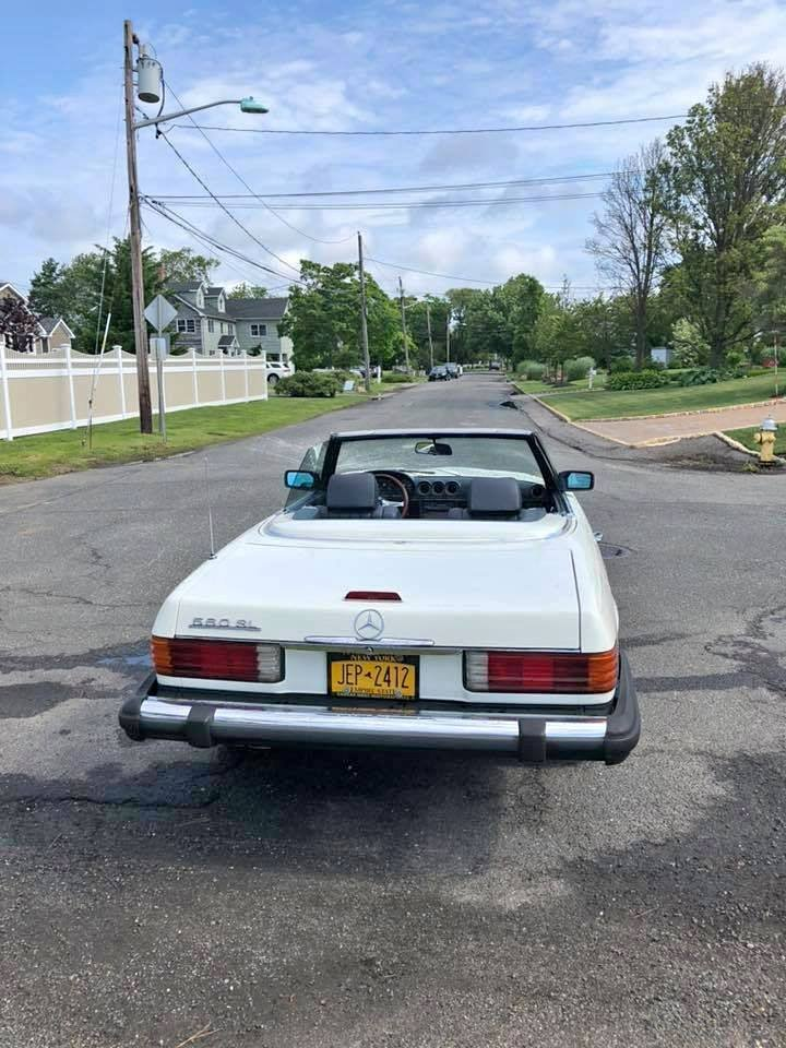 1982 Mercedes 380SL Convertible (West Islip, NY) $24,900 obo For Sale (picture 2 of 6)