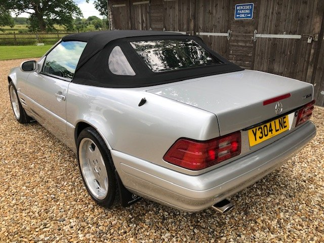 2001 Mercedes SL 280 Special Edition For Sale (picture 2 of 6)
