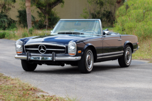 1970 Mercedes-280 SL Pagoda Auto Trans Blue(~)Navy $72.5k For Sale