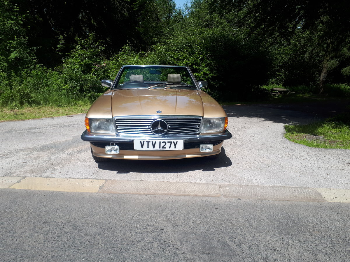 1989 MERCEDES 380SL 1983 Automatic For Sale (picture 2 of 6)