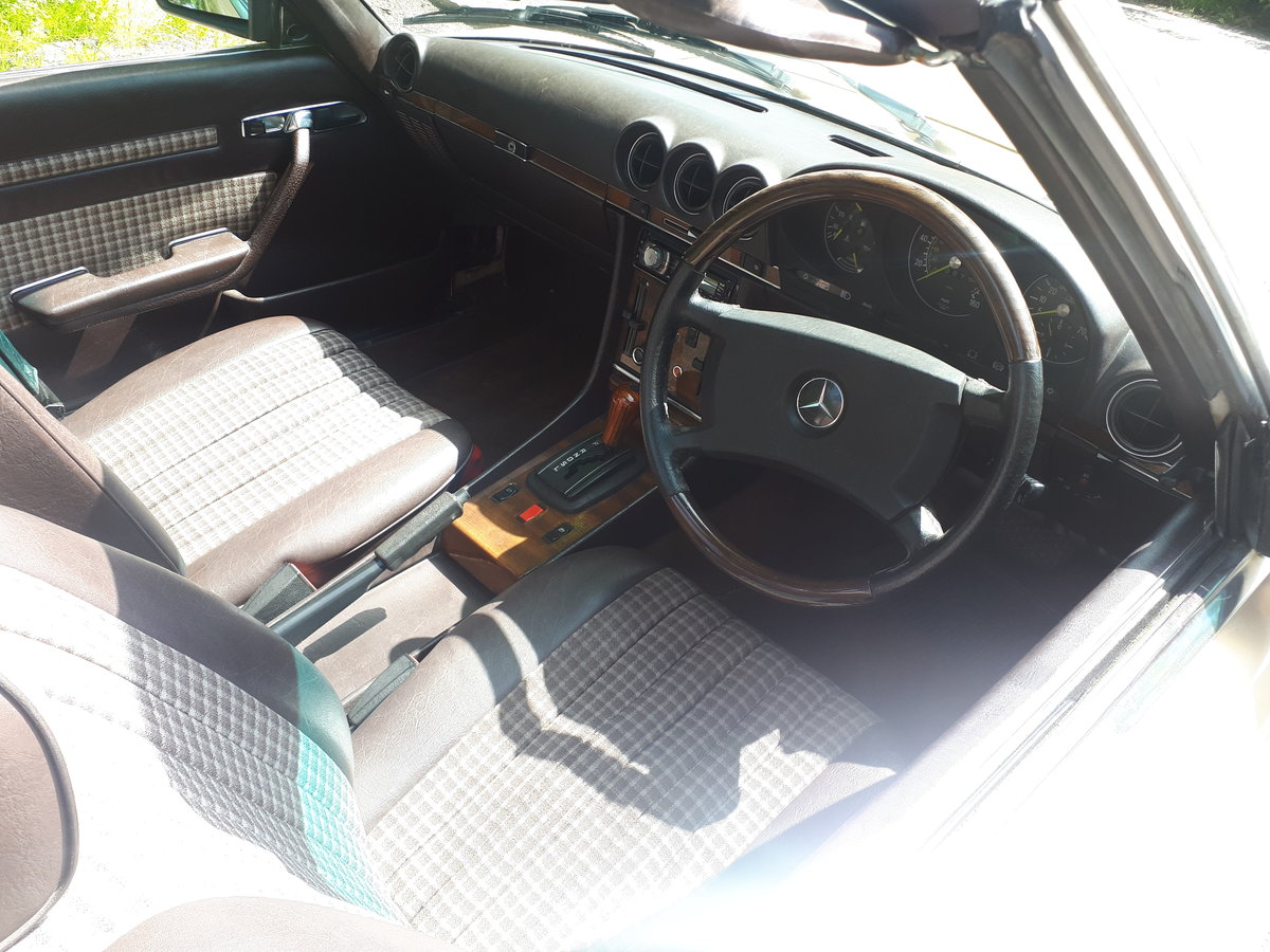 1989 MERCEDES 380SL 1983 Automatic For Sale (picture 6 of 6)