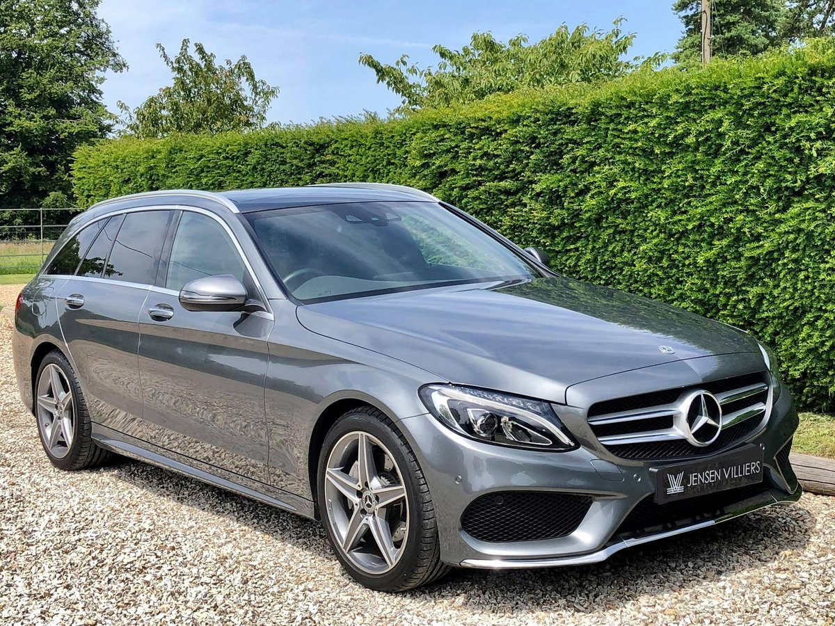 2017 Mercedes C200 AMG Premium **1 Private Owner Very Low Miles** For Sale (picture 1 of 6)