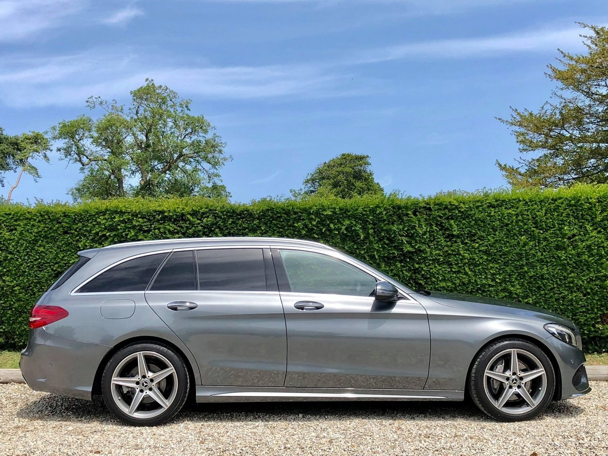 2017 Mercedes C200 AMG Premium **1 Private Owner Very Low Miles** For Sale (picture 2 of 6)