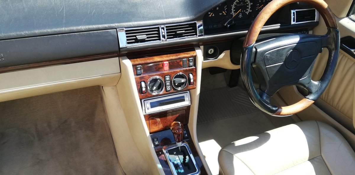 1996 Rare E Class Cabriolet in Excellent Condition For Sale (picture 1 of 6)