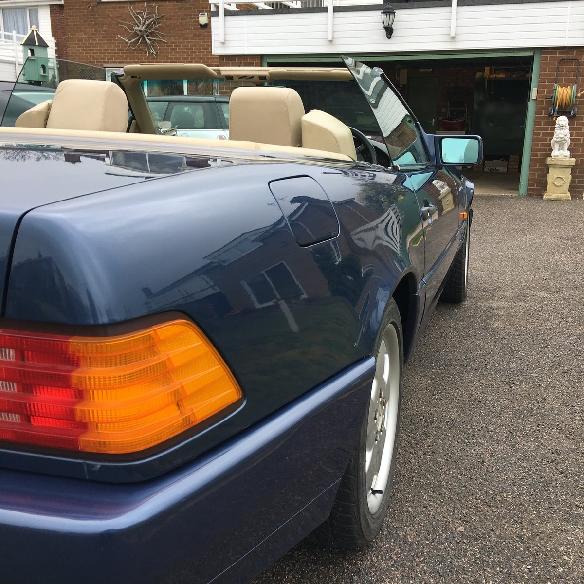 1991 Mercedes 300SL Sports car convertible For Sale (picture 4 of 4)