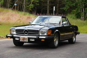 1978 Mercedes 280SL Convertible = Euro Specs 8.7 miles $12k For Sale