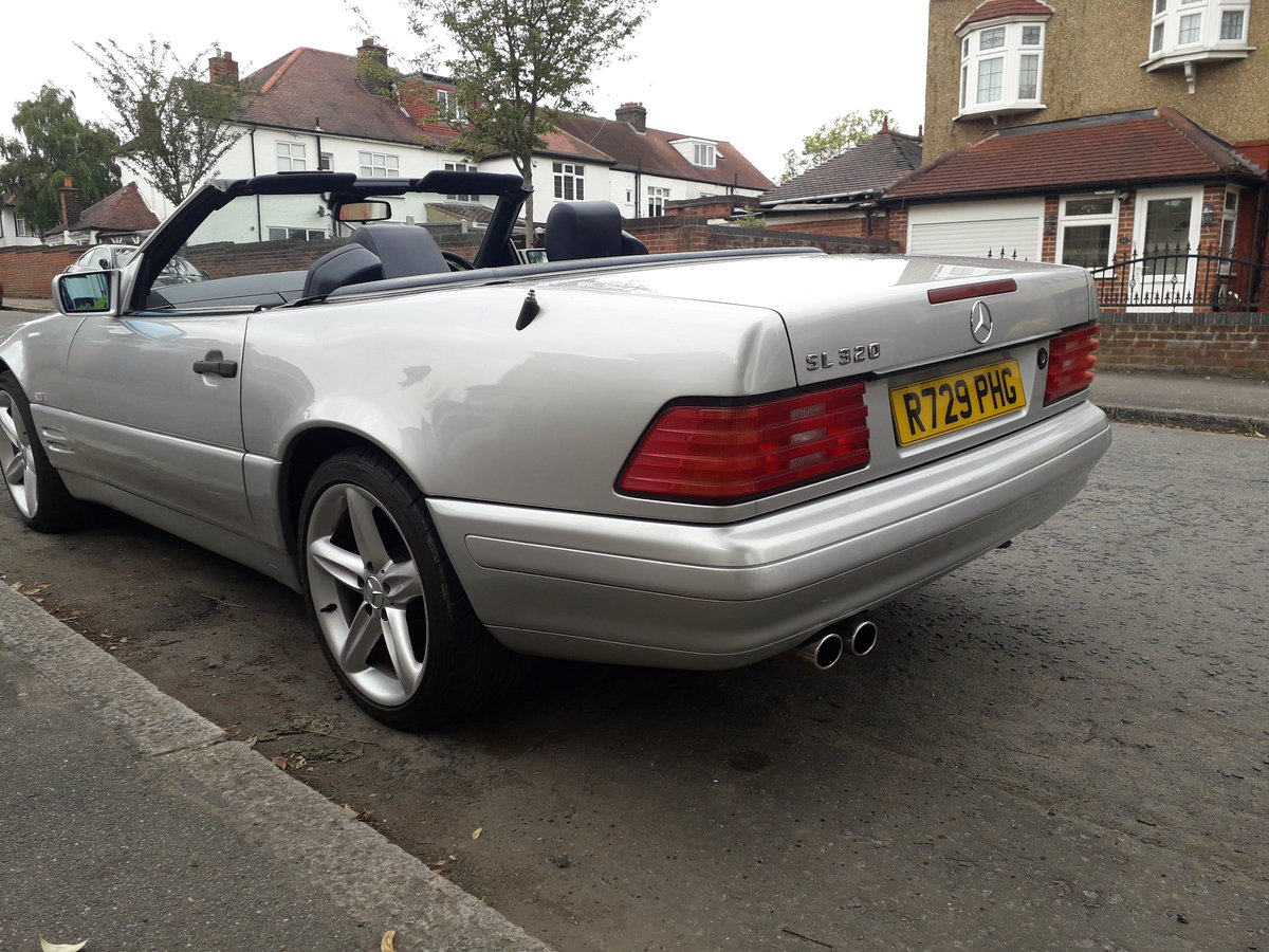 1998 Mercedes sl320 r129 For Sale (picture 4 of 6)