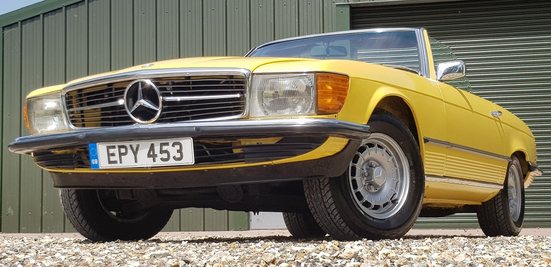1973 LOVELY  RARE  73  SL  350  FSH  AND  VERIFIED  MILES   For Sale (picture 3 of 6)