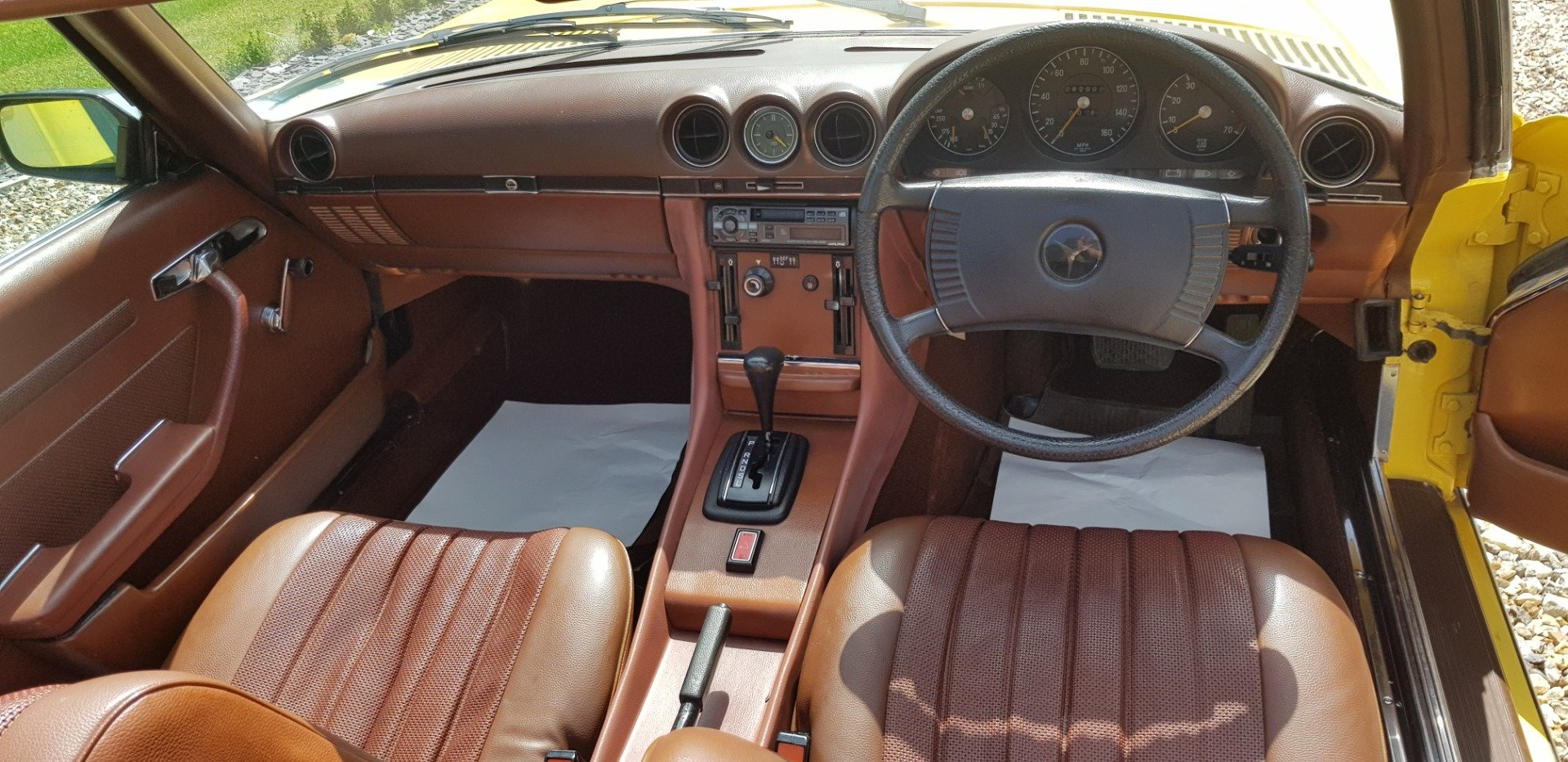 1973 LOVELY  RARE  73  SL  350  FSH  AND  VERIFIED  MILES   For Sale (picture 6 of 6)