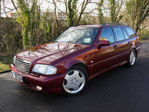 1999(T) MERCEDES BENZ C43 AMG ESTATE V8 AUTOMATIC W202 For Sale