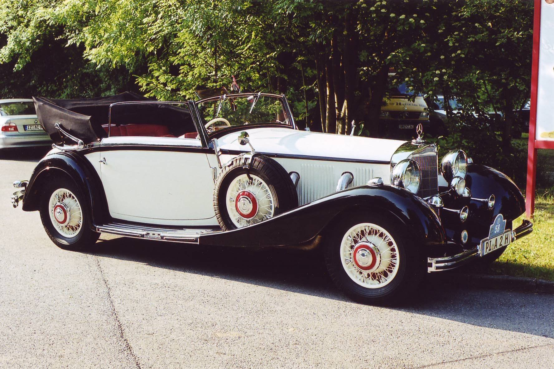 1935 Mercedes 500 k Cabriolet CvB For Sale (picture 4 of 6)