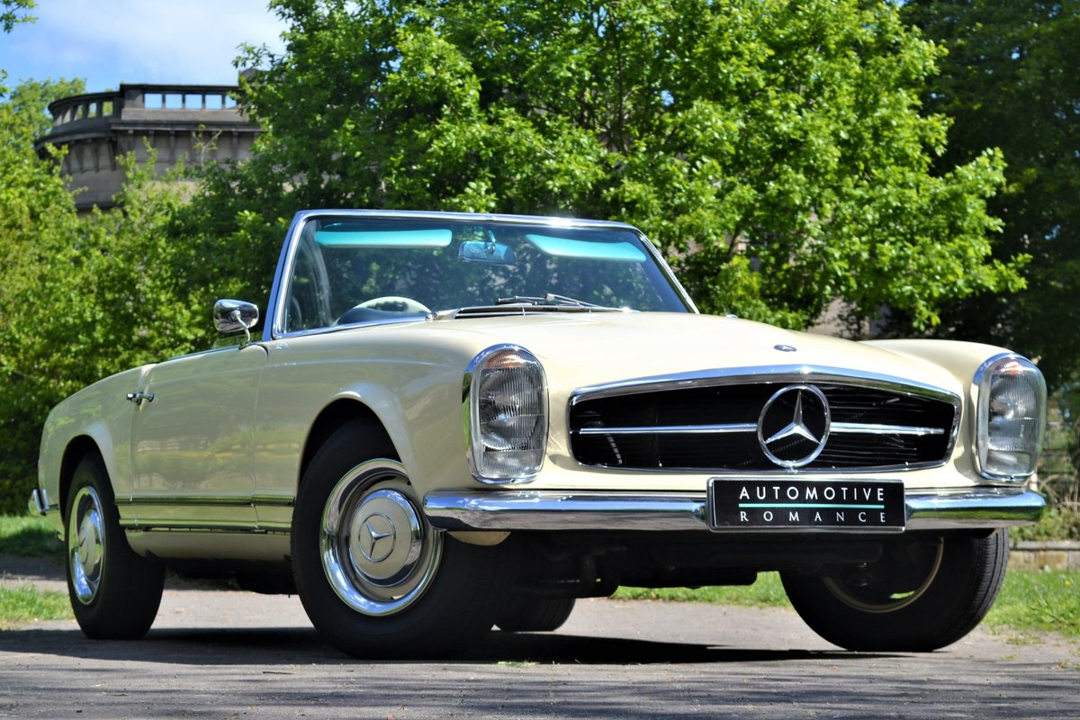 1964 W113 Mercedes-Benz 230 SL Pagoda RHD Manual  For Sale (picture 1 of 6)