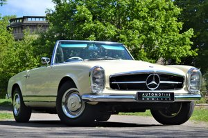 1964 W113 Mercedes-Benz 230 SL Pagoda RHD Manual