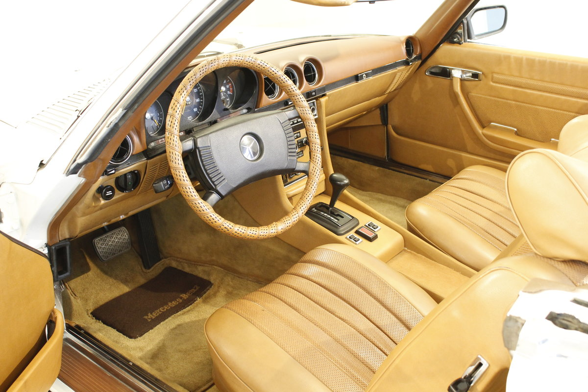 1973 Mercedes 450 SL Convertible  SOLD (picture 4 of 6)