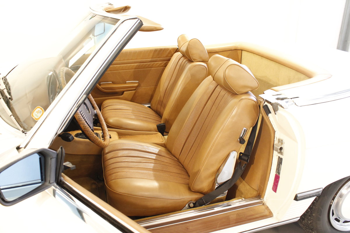 1973 Mercedes 450 SL Convertible  SOLD (picture 5 of 6)