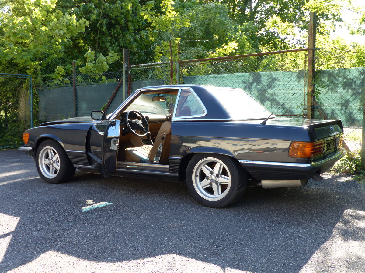 1973 Super-rare: Mercedes-Benz 350 SL with manual gearbox For Sale (picture 6 of 6)