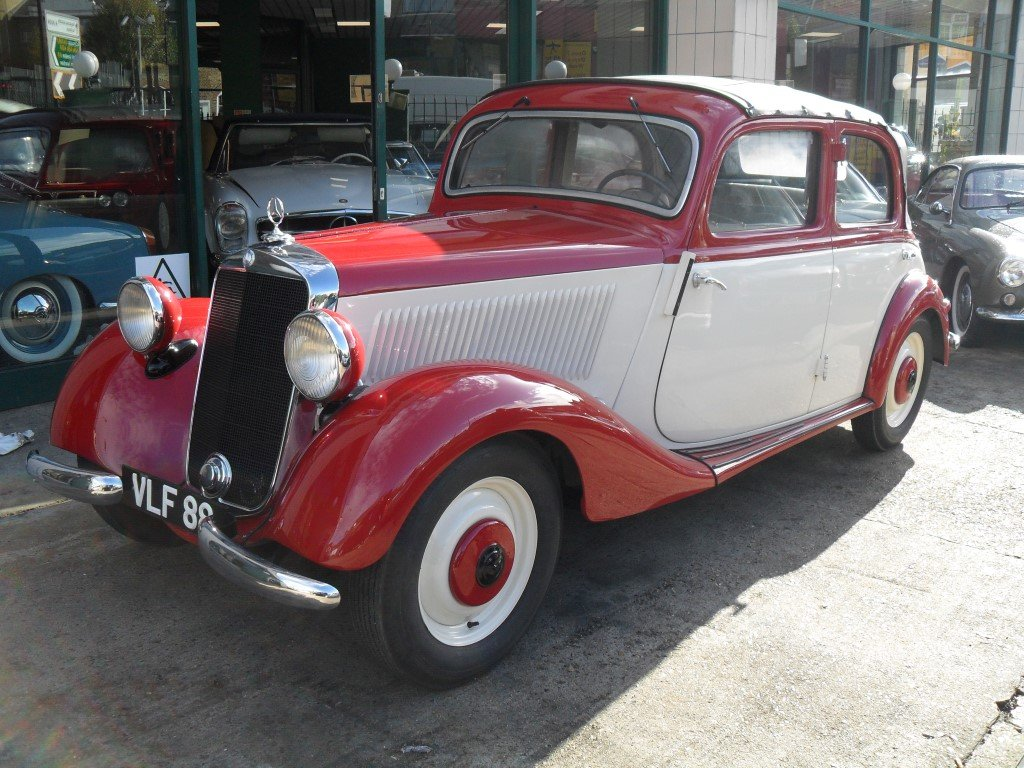 Mercedes V170 Cabrio-Limousin style 1936 Fully restored For Sale (picture 1 of 5)
