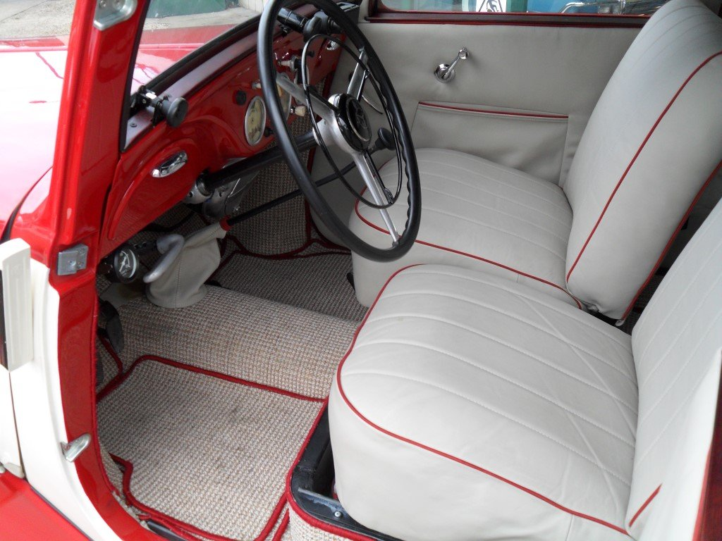 Mercedes V170 Cabrio-Limousin style 1936 Fully restored For Sale (picture 4 of 5)