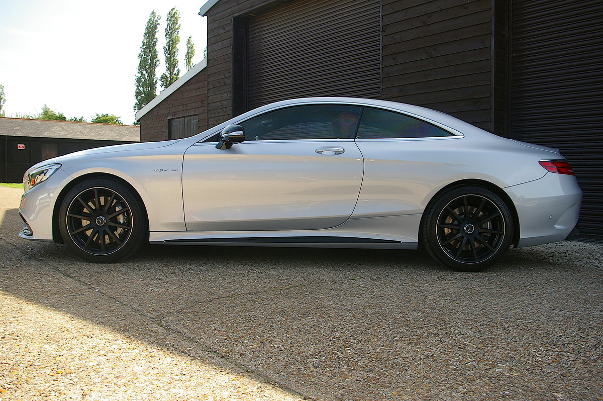 2016 Mercedes-Benz S63 AMG 5.5 V8 Coupe Auto (25,342 miles) SOLD (picture 2 of 6)