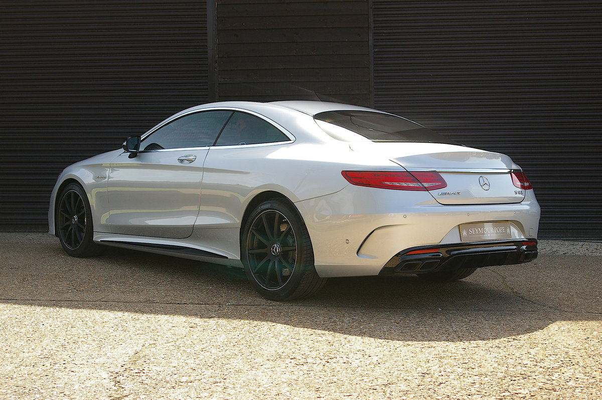 2016 Mercedes-Benz S63 AMG 5.5 V8 Coupe Auto (25,342 miles) SOLD (picture 3 of 6)