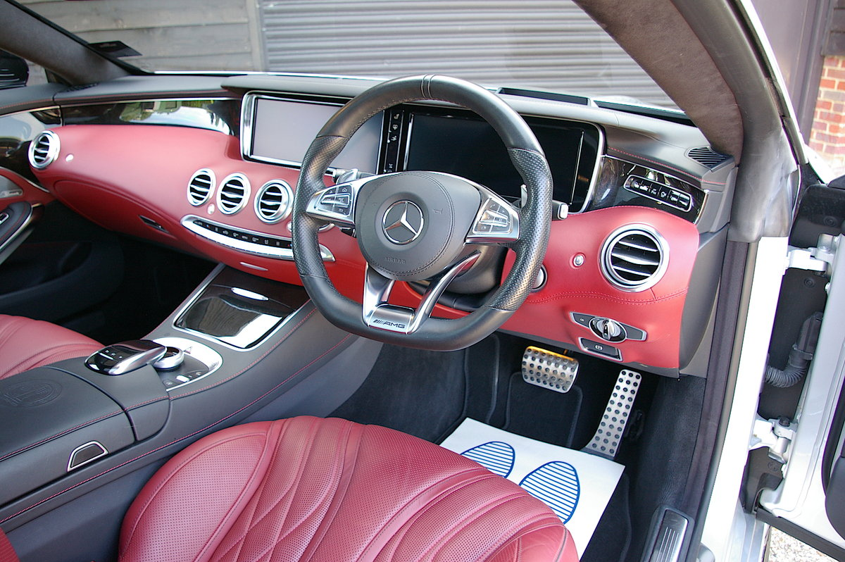 2016 Mercedes-Benz S63 AMG 5.5 V8 Coupe Auto (25,342 miles) SOLD (picture 4 of 6)