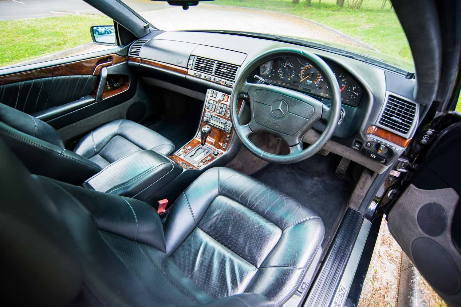 1995 Mercedes-Benz W140 S500 Coupe - 95K - 3 Owners - Lorinser SOLD (picture 4 of 6)