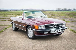 1989 Mercedes-Benz R107 300SL - 7,714 Miles From New SOLD