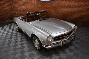 1968 Mercedes  280SL Pagoda Convertible = Auto 2 Tops $79.5k  For Sale
