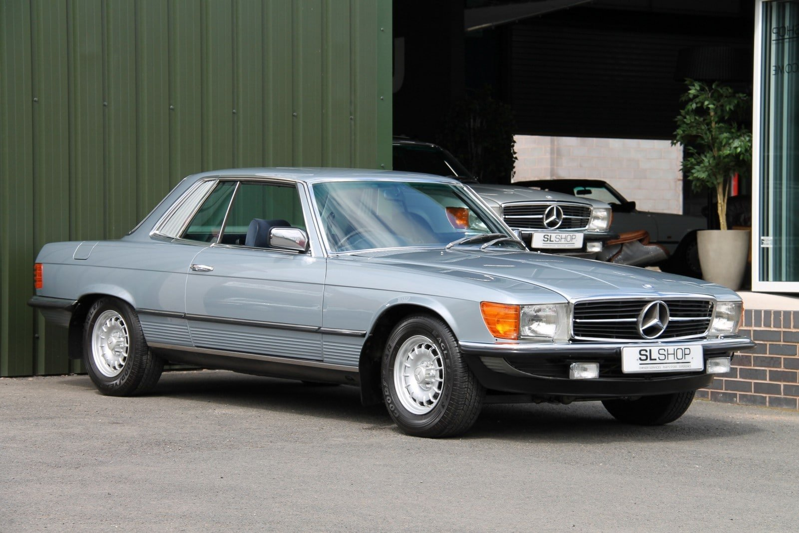 1981 Mercedes-Benz 380 SLC Stock No 2118 For Sale (picture 1 of 6)