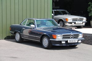 1987 Mercedes-Benz 300 SL (R107) #2136