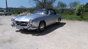 1958 Mercedes 190 SL LHD For Sale